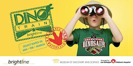 Dino Train by Brightline tickets
