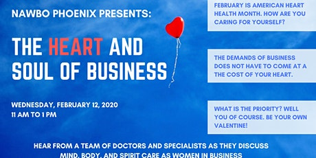 February Business Program: The Heart and Soul of Business tickets