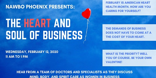 February Business Program: The Heart and Soul of Business