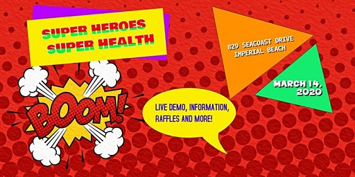 Super Heroes Super Health!  Health and Wellness Fair