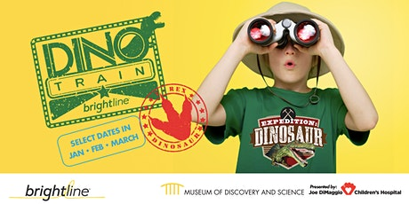 Dino Train by Brightline tickets