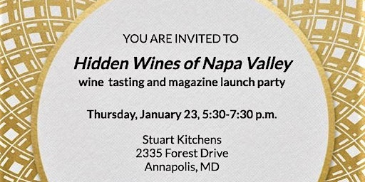 Annapolis Home Magazine Wine Tasting/Design Awards Issue Party - SOLD OUT!