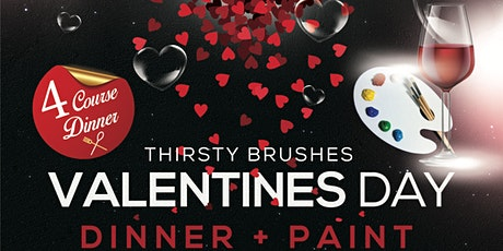 Valentine's Day Dinner and Paint tickets