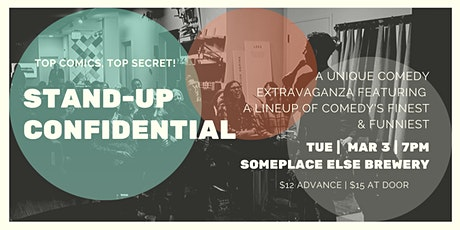 Stand-Up Confidential at SomePlace Else Brewery tickets