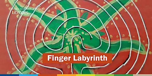 Finger Labyrinth - Arana Hills Library