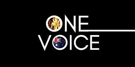 One Voice tickets
