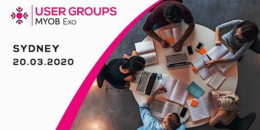 MYOB Exo User Group | Sydney