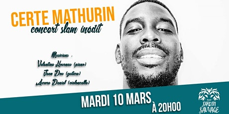 Certe dans SLA-ZZY, concert slam jazzy // 10.03.2020 billets