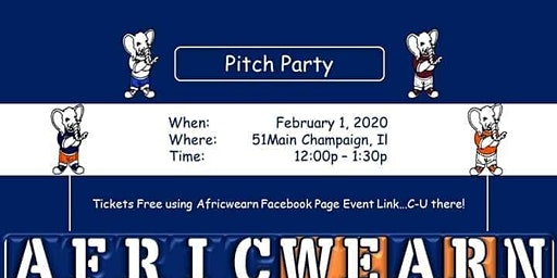 Africwearn Pitch Party