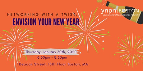 Networking with a Twist: Envision Your New Year tickets