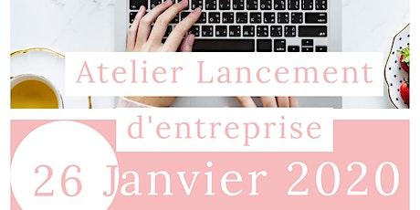 Atelier Lancement d'Entreprise tickets