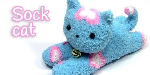Cuddly Sock Kitten