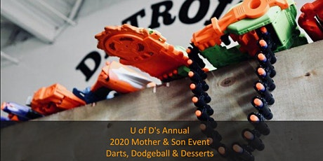 UDJ Mother-Son Nerf Gun Games and Dodgeball tickets