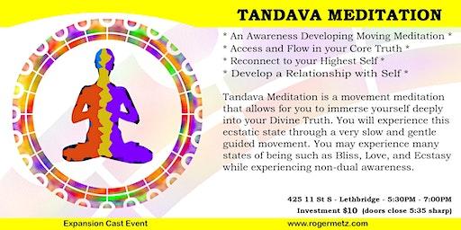 Tandava Meditation / Non-posture yoga