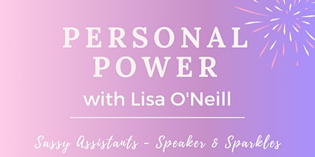 Speaker & Sparkles with the fabulous Lisa O'Neill tickets