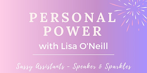 Speaker & Sparkles with the fabulous Lisa O'Neill