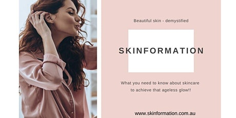 Skinformation Evening with Natasha Fallon tickets