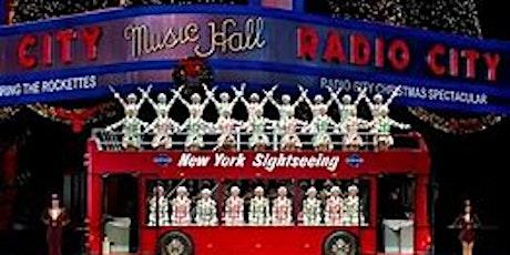 Radio City Rockettes Christmas Spectacular NYC Bus Trip tickets