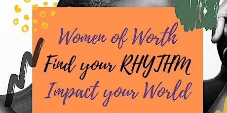 Jax WOW: Women of Worth Find Your Rhythm RETREAT tickets