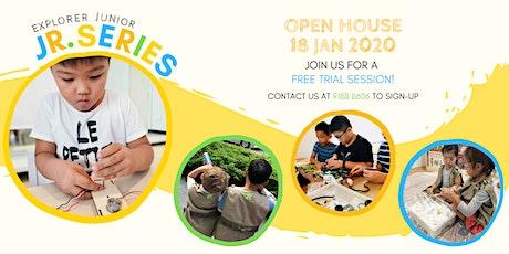 Explorer Junior Jr Series Open House tickets