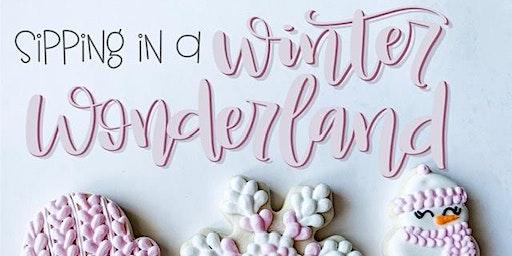 Winter Wonderland Cookie Decorating Class