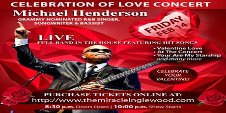 CELEBRATION OF LOVE CONCERT - MICHAEL HENDERSON tickets