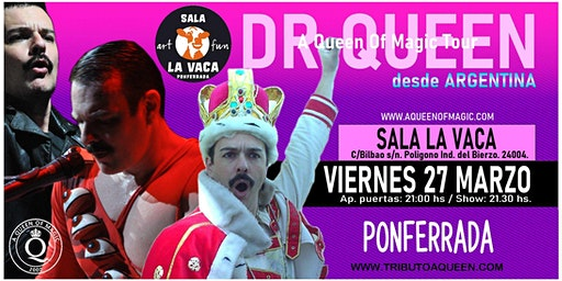 DR QUEEN - A QUEEN OF MAGIC TOUR - PONFERRADA