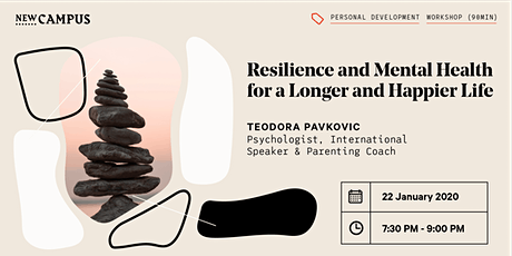 Resilience And Mental Health For A Longer And Happier Life tickets