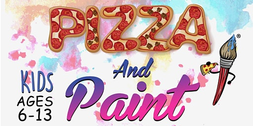 Kids Pizza and Paint Party
