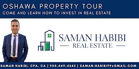 Oshawa Real Estate Investing-Property Tour tickets