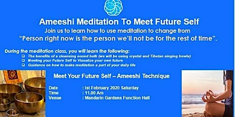 Ameeshi Meditation for meeting your Future Self tickets