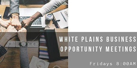White Plains NY Business Opportunity Meetings tickets