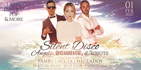 Silent Disco Costume Party: Angels Demons and Robots by SoundDown Seattle tickets