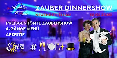 Zauber Dinnershow in Neuendettelsau | 22.02.2020 | 4-Gänge Menü + Show | Tickets