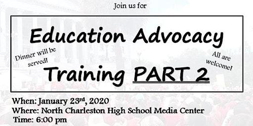 Advocacy Training Part 2