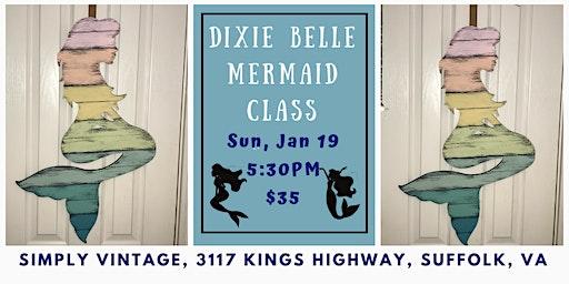 Mermaid Paint Nite with Dixie Belle