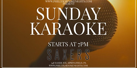 Sunday Karaoke at Saxers Pub (Delaware County, PA) tickets