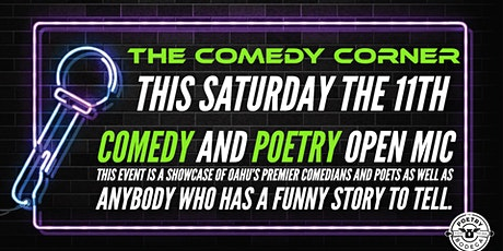 The Comedy Corner + Poetry Open Mic  tickets
