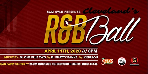 Cleveland R&B Ball Presented by SAM SYLK