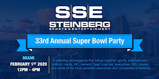 LEIGH STEINBERG 33rd ANNUAL SUPER BOWL PARTY