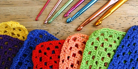 Learn to Crochet Squares tickets