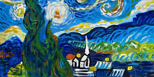 Paint Like Van Gogh (Dine In)