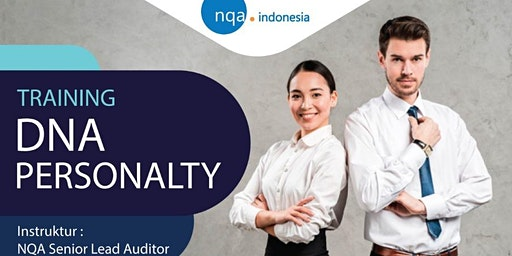 DNA PERSONALITY -  1 DAY COURSE- STIFIN - IDR 1.750.000,-