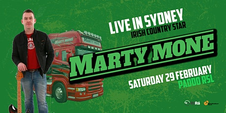 Marty Mone (IRE) Live in Sydney tickets