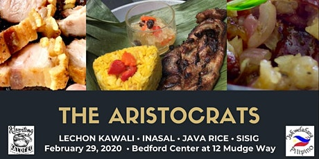 """The Aristocrats"" [lechon kawali, inasal, java rice and sisig] Filipino Cooking Workshop tickets"
