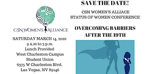 CSN Women's Alliance Status of Women Conference 2020
