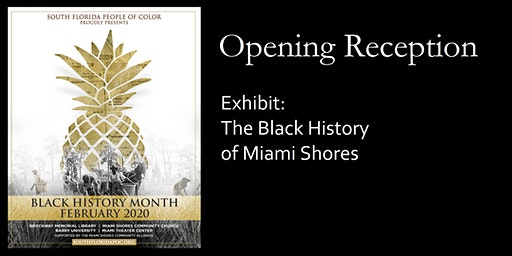 Black History Month Exhibit and Opening Reception
