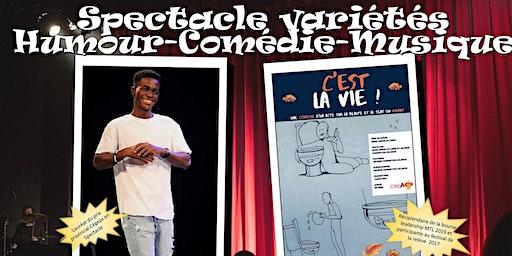 Spectacle humour-comédie-musique