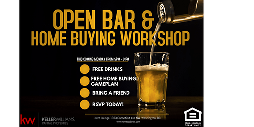New Year New House! Happy Hour and Home Buying 101 Workshop