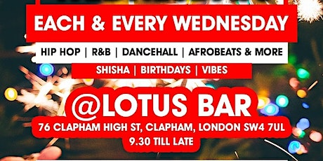MIX AND BLEND WEDNESDAYS - The Wednesday Night Hot Spot In Clapham tickets